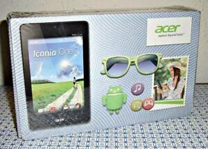 """NEW ACER ICONIA ONE 7 B1-730-127U 8GB, WI-FI, 7"""" TABLET / E-BOOK READER - WHITE"""