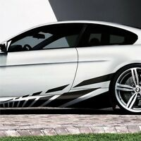 2x Seitenstreifen Seitenaufkleber 2,1m Racing Streifen Auto Aufkleber Tuning S17