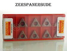10  Wendeplatten TCMX 16T308-WF 1115  SANDVIK Neu u. Ovp