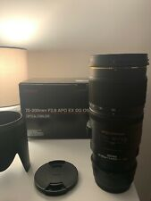 Sigma 70-200mm F/2.8 APO EX DG OS Lens For Canon