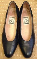 """Mesdames CABLE & CO """"Bambou"""" bleu en cuir et daim Cour Chaussures Taille UK6 EU39"""