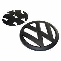 original VW Zeichen matt schwarz VW Bus T6 Crafter SY SZ Emblem Logo Grill vorn