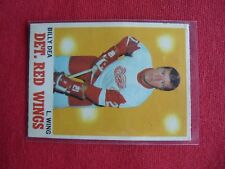 VINTAGE HOCKEY CARD O PEE CHE 1970-71 BILLY DEA  DETROIT RED WINGS  EXC