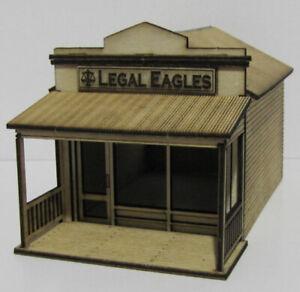 "Trackside Models - HO Scale - Laser Cut ""Lawyers"" - SM1065"