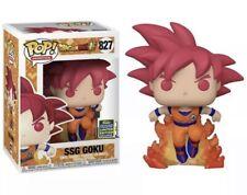 Funko Pop Super Saiyan God Goku *2020 SDCC SHARED Exclusive* Presale
