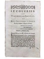 Tréguier en 1789 Côtes d'Armor Kéralio Esclavage Colonie Jura Boulogne sur Mer