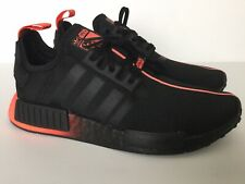 Adidas NMD R1 J Star Wars FW2276  Running Shoes Black Red Youth Junior