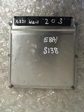 Mercedes Benz W203 2001-2003 C Class ECU Engine Control Module Unit A6111537779