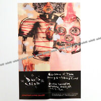 DAVID CHOE Rare Art Exhibition Poster Print from 2007