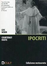 Dvd **IPOCRITI** Edizione Restaurata di Lois Weber con Courtenay foote 1915