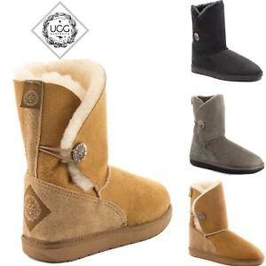 UGG AUSTRALIA Brighton 3/4 Ugg Boots 100% Australia Made Premium Sheepskin