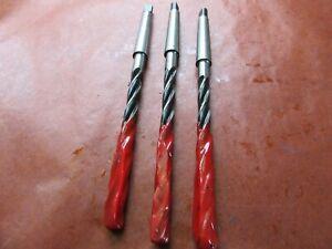 3 x  MK1 Aufbohrer 9,0 H8 DIN 343 Spiralbohrer 3 Schneider Senker SL115 #Y29-13#