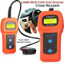 CAN U480 BUS AUTO OBDII OBD2 EOBD Car Tool Diagnostic Scanner Engine Code Reader