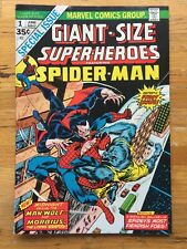 Giant-Size Super-Heroes #1 Vf+ 8.5 Spider-Man Morbius Man-Wolf! 1stEdition