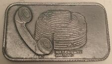 Watergate Limited Edition 1ST Issue 1973 LENKO Pewter Bar #0902 OF 5000 Mintage