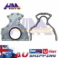 Rear Main Oil Seal & Plate Housing for Holden Commodore LS1 2 V8 VT VX VY VZ HSV