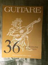 Guitare n° 36 Quatre pièces Sweelink partition guitare éditions Leduc