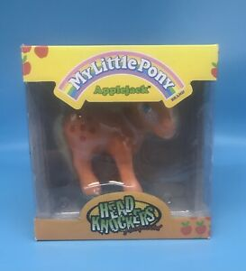 NECA My Little Pony Applejack Head Knocker Bobblehead - New In Box -
