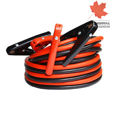 Heavy Duty Booster Jumper Cable1 Gauge x 25 Ft x 800A Heavy Duty for Car Van ...