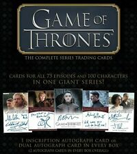 2020 Rittenhouse Game of Thrones The Complete Series Trading Cards Box New 10/16