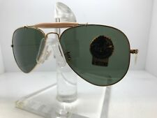 New Ray Ban Sunglasses RB 3030 W0226 58MM OUTDOORSMAN I GOLD PADDLE TEMPLE