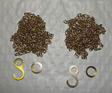 Cuckoo Clock Chain SET OF 2 Fits Regula 25 35 70 NEW 61 Links Per Foot With Ends