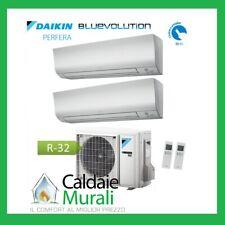 CONDIZIONATORE DAIKIN DUAL SPLIT BLUEVOLUTION PERFERA FTXM-N 7000+12000 2MXM50M