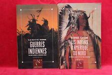 Terre Indienne - Lot de 2 - Livres grand format - Occasion