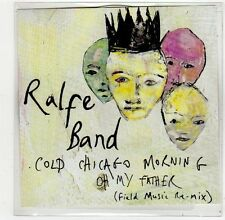 (FQ1) Ralfe Band, Cold Chicago Morning - 2013 DJ CD