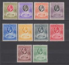 Gold Coast 1921 Mint Mounted Part Set to 5/-