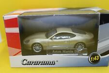 Cararama Hongwell ASTON MARTIN DB7 1.43 in (environ 3.63 cm) or/brun clair coule...