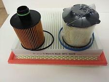 Astra J MK6 1.3 CDTi  Diesel Oil Air Fuel Pollen Filter Service Kit 2009-2015