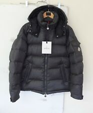Authentic New Moncler Montgenevre Dark Gray Wool Down Men's Jacket EU2/US Medium