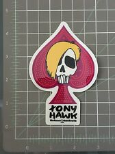 "BirdhouseTony Hawk "" Mc Squeeb Skull"" Skateboard sticker"
