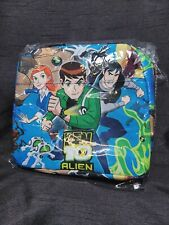 """New listing Cartoon Ben10 Insulated Lunch Bag. 8""""x8"""". New. Usps Shipping"""