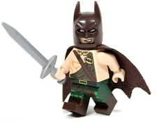 LEGO THE BATMAN MOVIE MINIFIGURE TARTAN BATMAN WITH SWORD AUTHENTIC LEGO MINIFIG