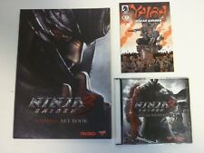 Ninja Gaiden 3 Soundtrack CD & Unmask Art Book OST Anime Video Game Tecmo
