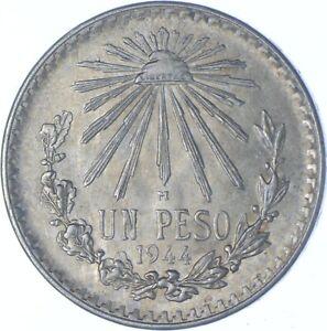 Better Date - 1944 Mexico 1 Peso - SILVER *198