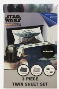 Star Wars Baby Yoda 3pc Twin Bedsheet Set