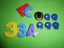 LOTE PLAYMOBIL NORDISTA, GORROS, CASCOS,SOMBREROS,casquettes, chapeaux, LOTE 334