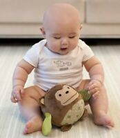 Baby Toddler Kids Children Soft Plush Chime Rattles Monkey Ball Crib Sport Toy