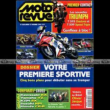 MOTO REVUE N°3252 HONDA CR 250 KAWASAKI KX YAMAHA YZ KTM SX SUZUKI DR 800 S 1996