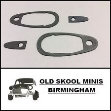 CLASSIC MINI DOOR HANDLE GASKET SET MK3> LARGE SMALL AUSTIN MORRIS COOPER 4G1