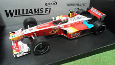 F1 WILLIAMS FW21 ZANARDI 1999 SUPERTEC 1/18 MINICHAMPS 180990005 miniature