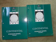 1998 Ford Continental Service Manuals