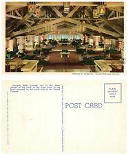 Postcard Yellowstone National Park, Canyon Hotel Lounge (B1)