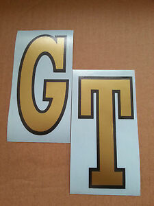 LAMBRETTA GT Vinyl DECALS / STICKERS FITS LEGSHIELD,  CLASSIC (Not Printed)