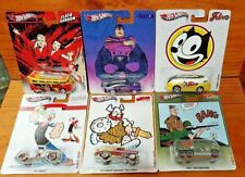Hot Wheels 2013 Pop Culture COMIC BOOK SERIES Full Set of 6 from the case (A+/A+