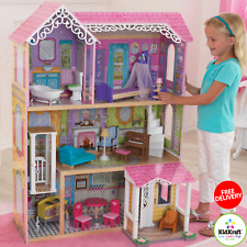 Wooden Dollhouse KidKraft With Elevator & 15 Piece Accessories For 12 Inch Dolls
