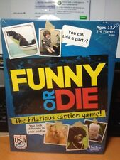 Funny or Die The Hilarious Caption Board Game Factory Sealed Hasbro